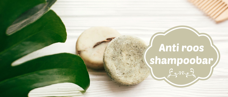 Anti roos shampoobar, verzorgend voor haar en hoofdhuid