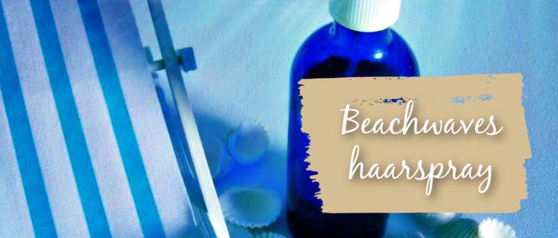 Beachwaves haarspray,  voor glanzend en verzorgd haar.