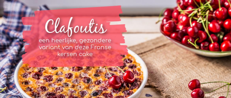 Clafoutis, een heerlijke gezondere variant met kersen