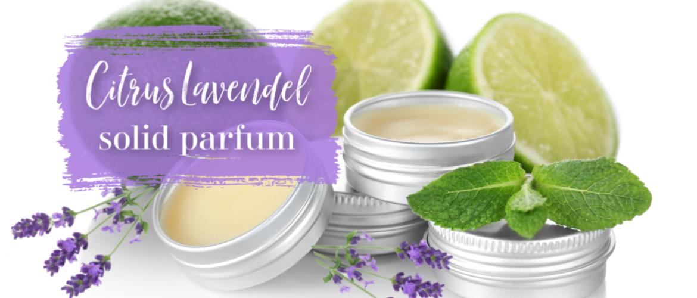 Citrus lavendel creme parfum, met pure natuurlijke ingrediënten.