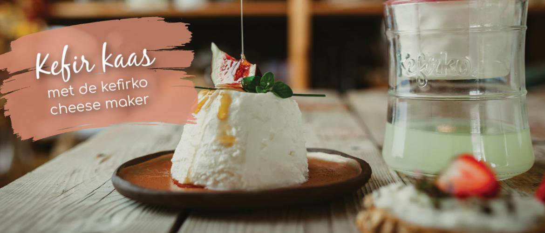 Kefir kaas maken, gezond en lekker met Kefirko cheese maker