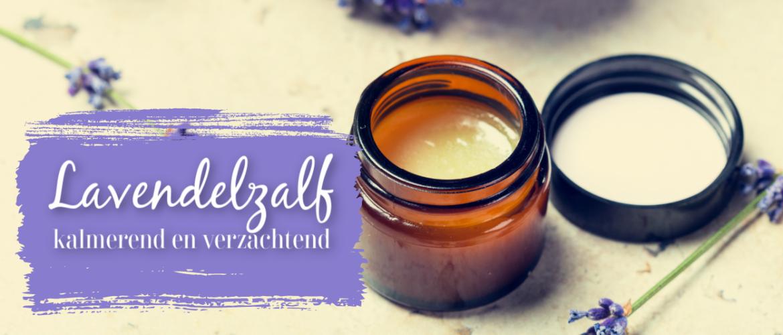 Lavendelzalf, verlichtend, kalmerend en verzachtend