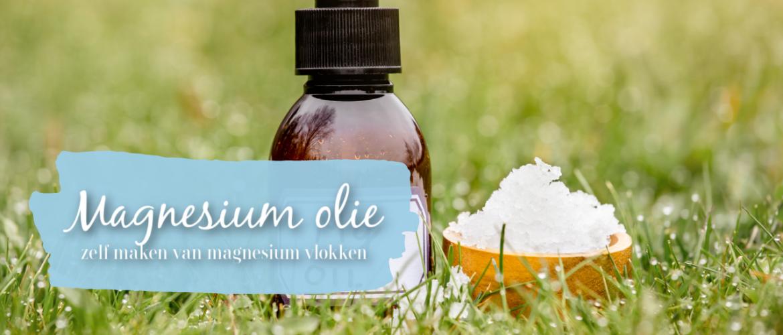 Magnesium olie, zelf maken van magnesium vlokken