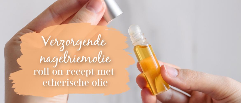 Nagelriem olie roll on, verzorgend en versterkend met etherische olie