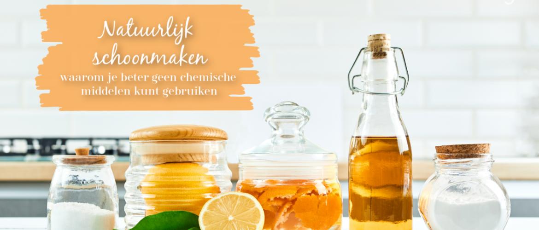 Natuurlijk schoonmaken, zonder chemische middelen
