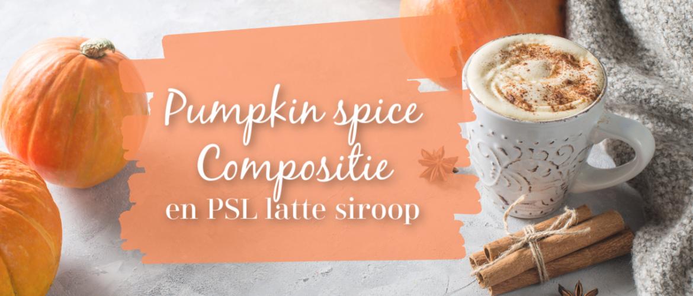 Pumpkin spice compositie en pumpkin spice latte recept
