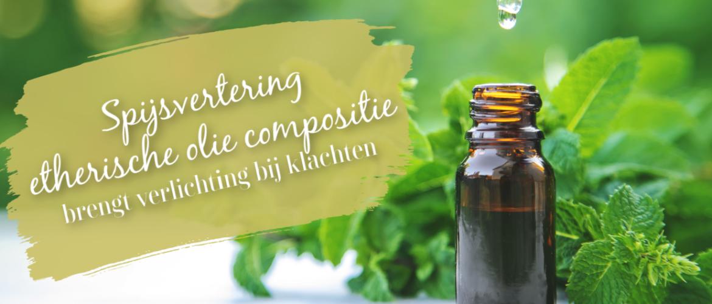 Spijsverteringsproblemen, etherische olie compositie voor maagklachten