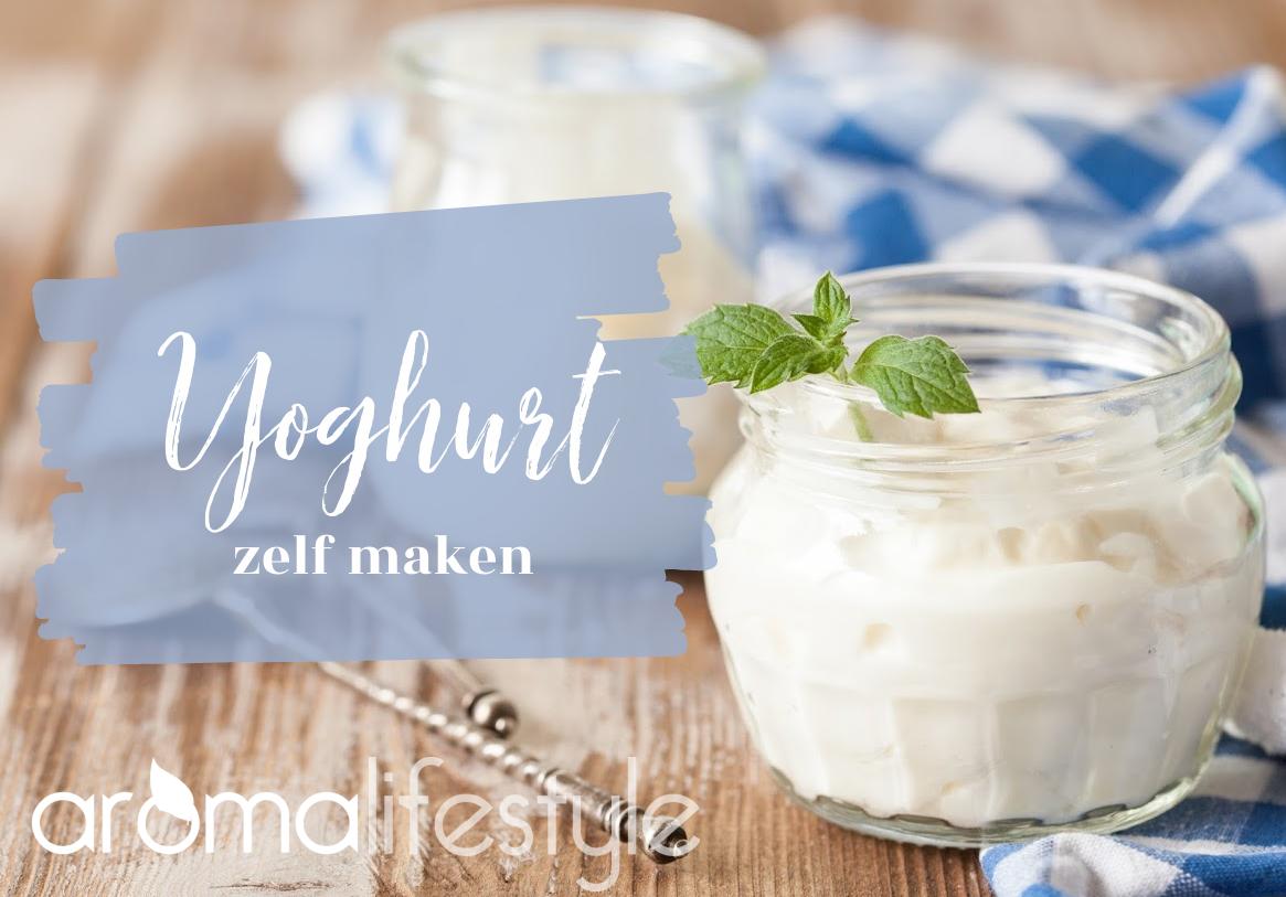 zelf yoghurt maken