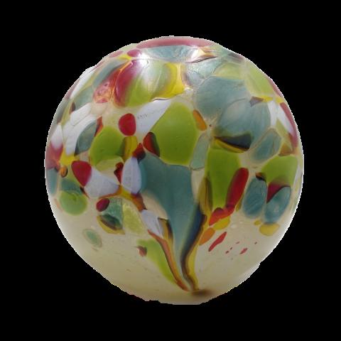 Opaal glas Urn veldboeket