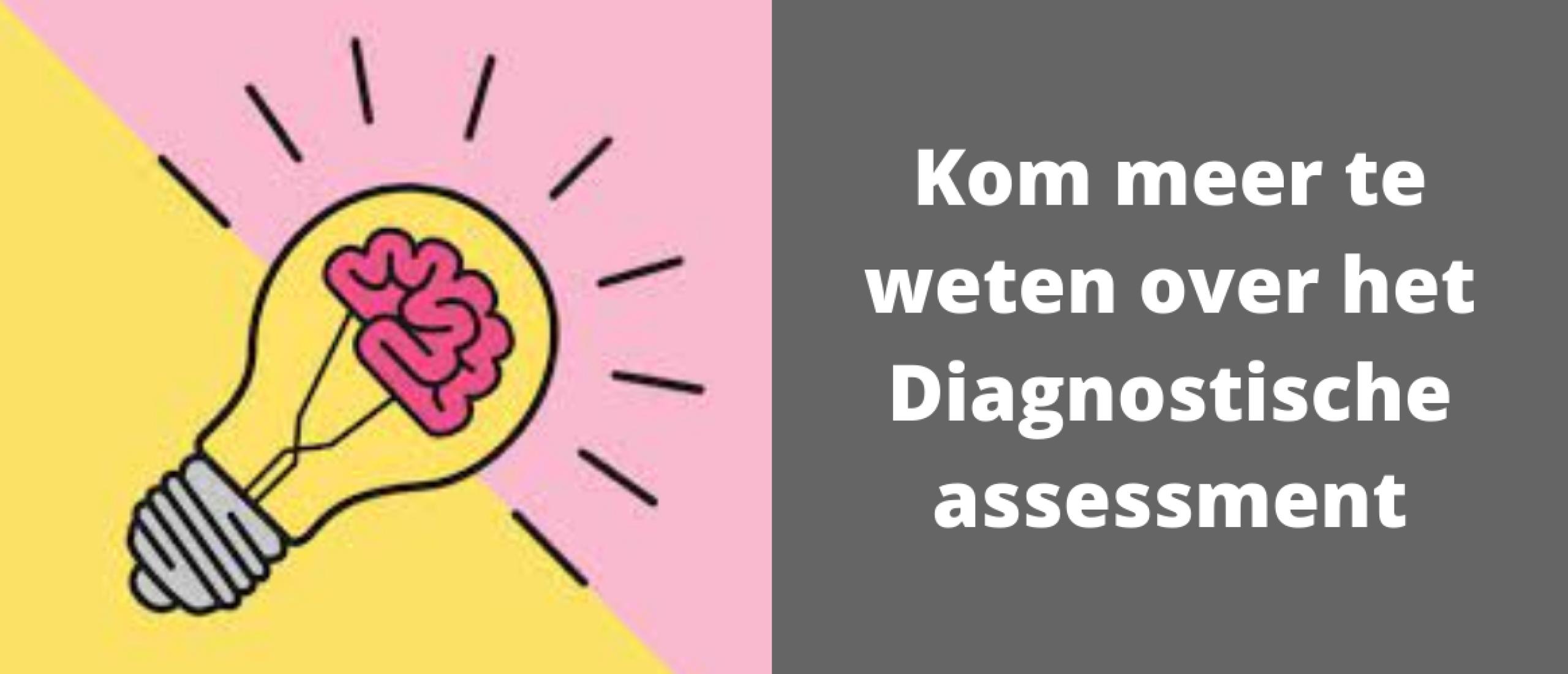 Kom meer te weten over het Diagnostische assessment