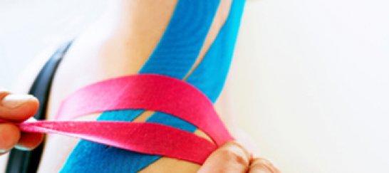 Elastic sport taping