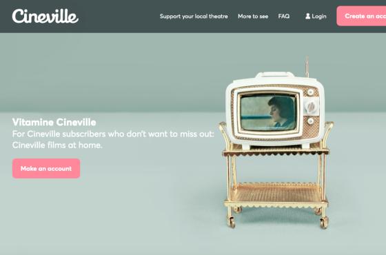 Cineville online video on demand streaming platform