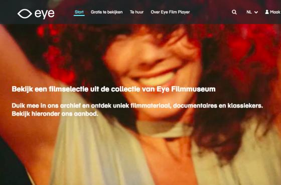 Eye Filmmuseum video on demand platform