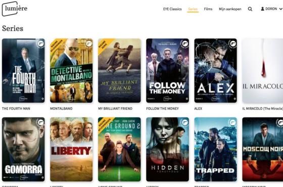 LumiereSeries film archive online EST TVOD