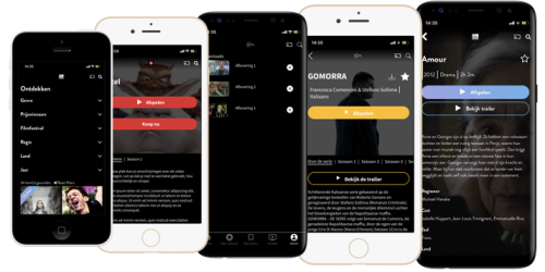 OTT video apps with AudiencePlayer