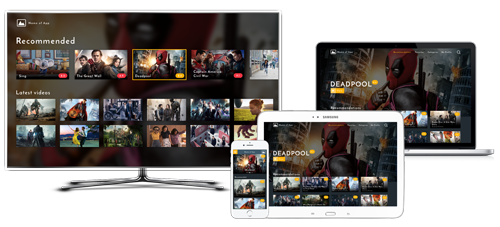 OTT video streaming platform solution on any device for film distributors