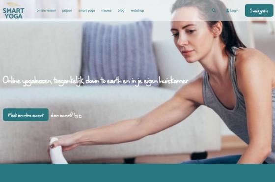 SmartYoga online yoga video platform