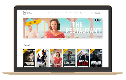 SVOD streaming service with AudiencePlayer
