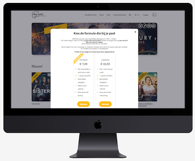 The subscription revenue model with AudiencePlayer video platform software