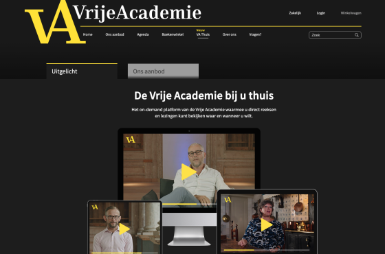 VA Thuis is built with AudiencePlayer