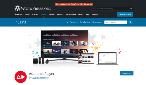 WordPress plugin video streaming
