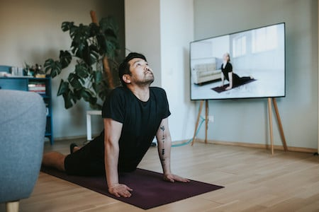 Yoga smart tv app with AudiencePlayer