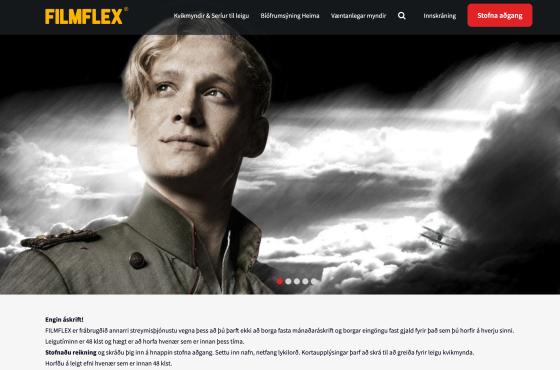 FilmFlex is gemaakt met AudiencePlayer