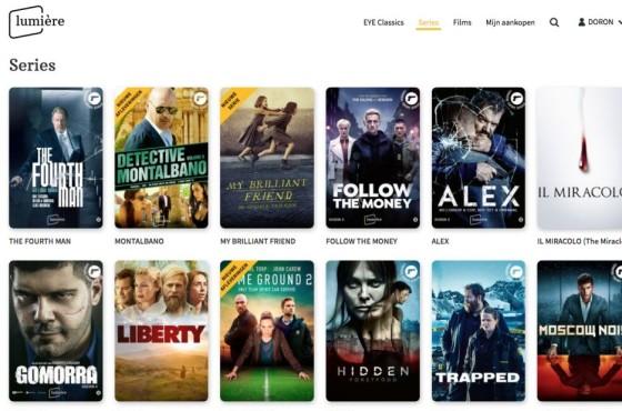LumiereSeries filmarchief online EST TVOD