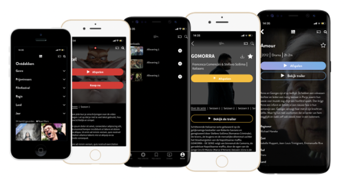 OTT mobiele apps AudiencePlayer