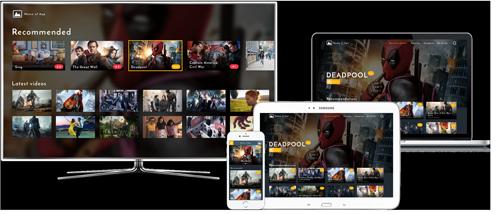 Start videoplatform op elk apparaat of platform met AudiencePlayer