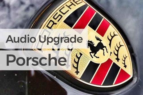 Audio Upgrade Porsche