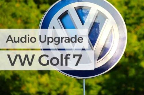 Audio Upgrade Volkswagen Golf 7