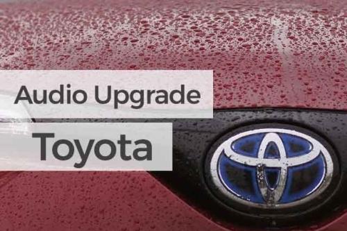 Audio Upgrade Toyota