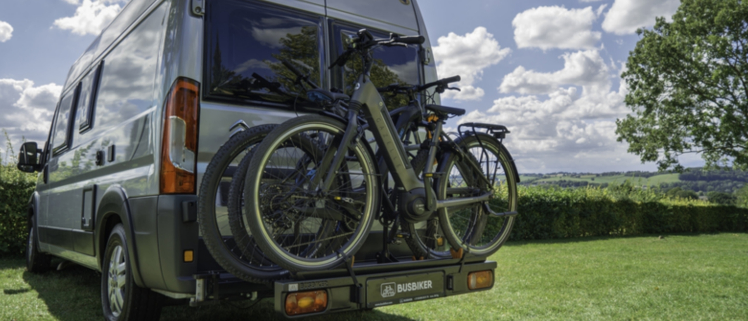 Busbiker: de fietsendrager voor uw bus of kampeerbus