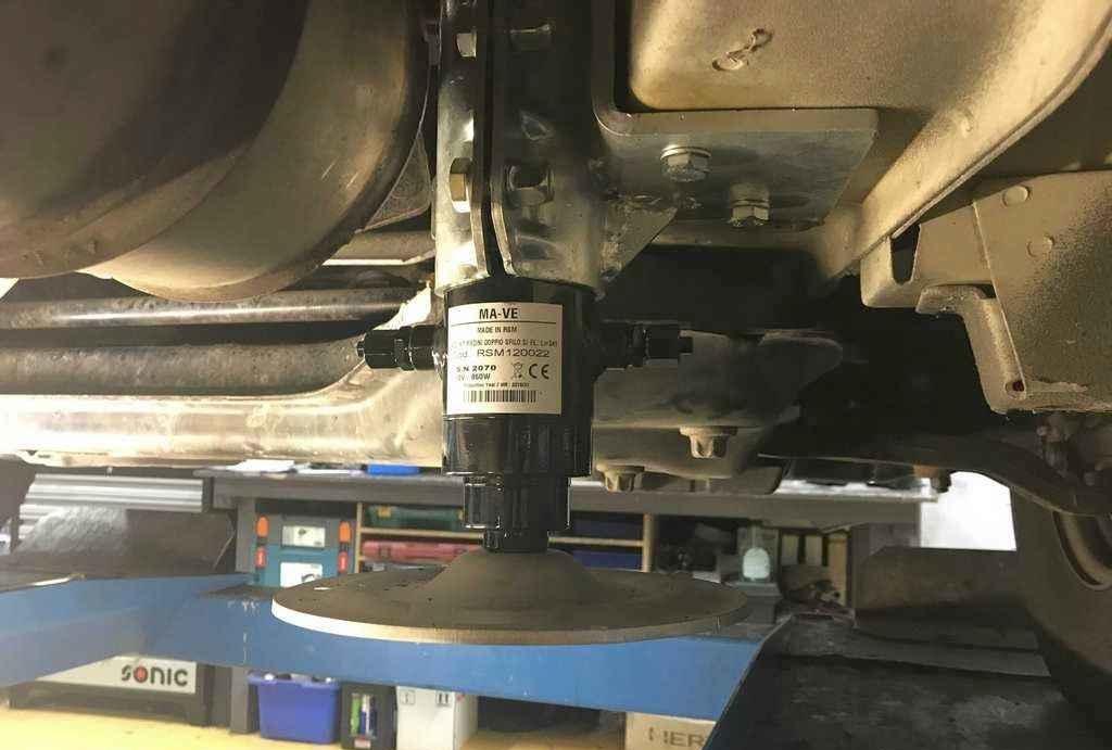 hydraulisch systeem camper bevestiging