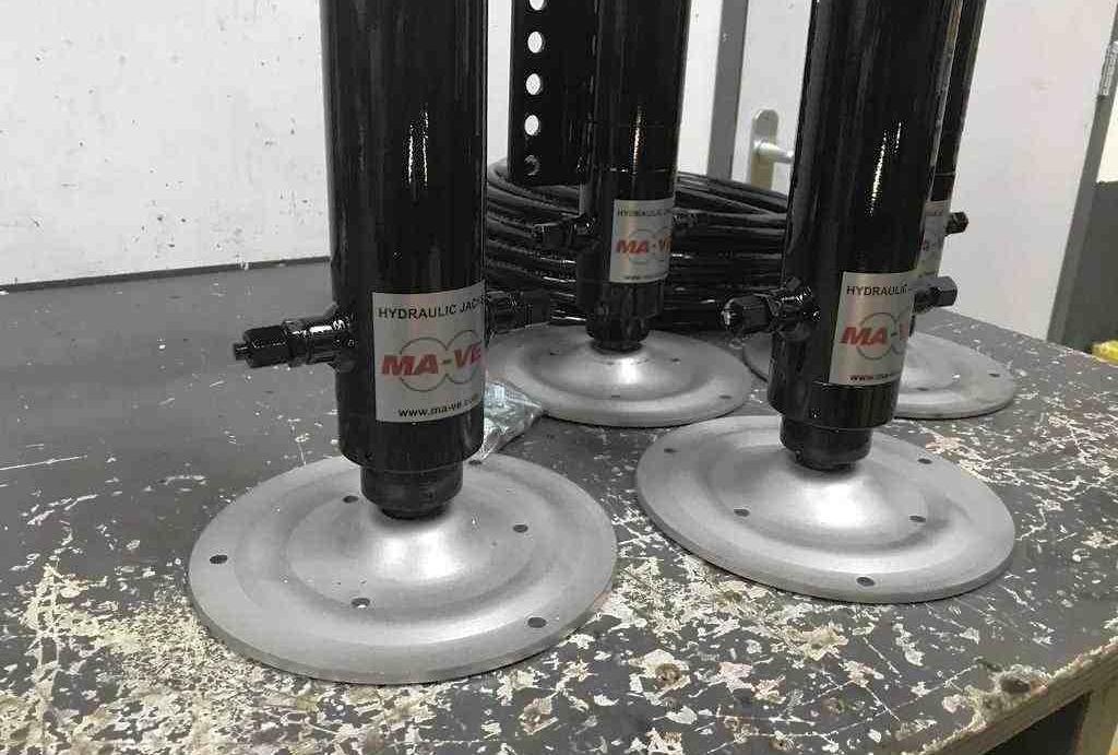 hydraulisch systeem camper poten