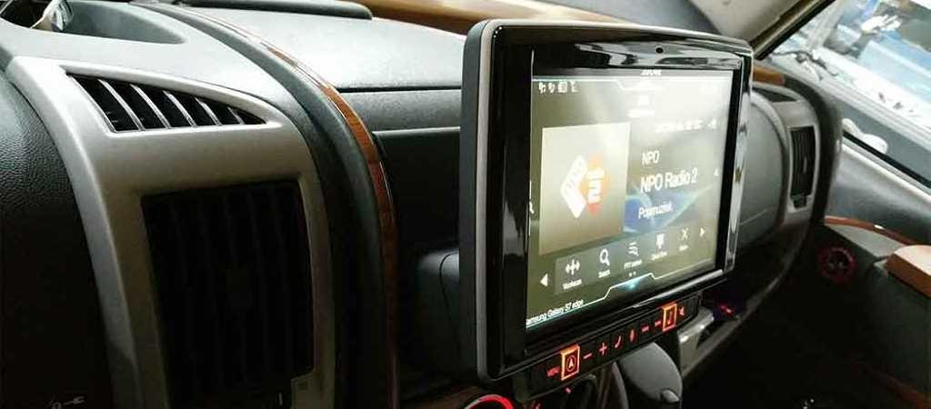upgrade Fiat Ducato carplaY