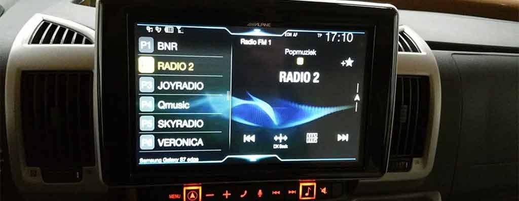 upgrade Fiat Ducato audio