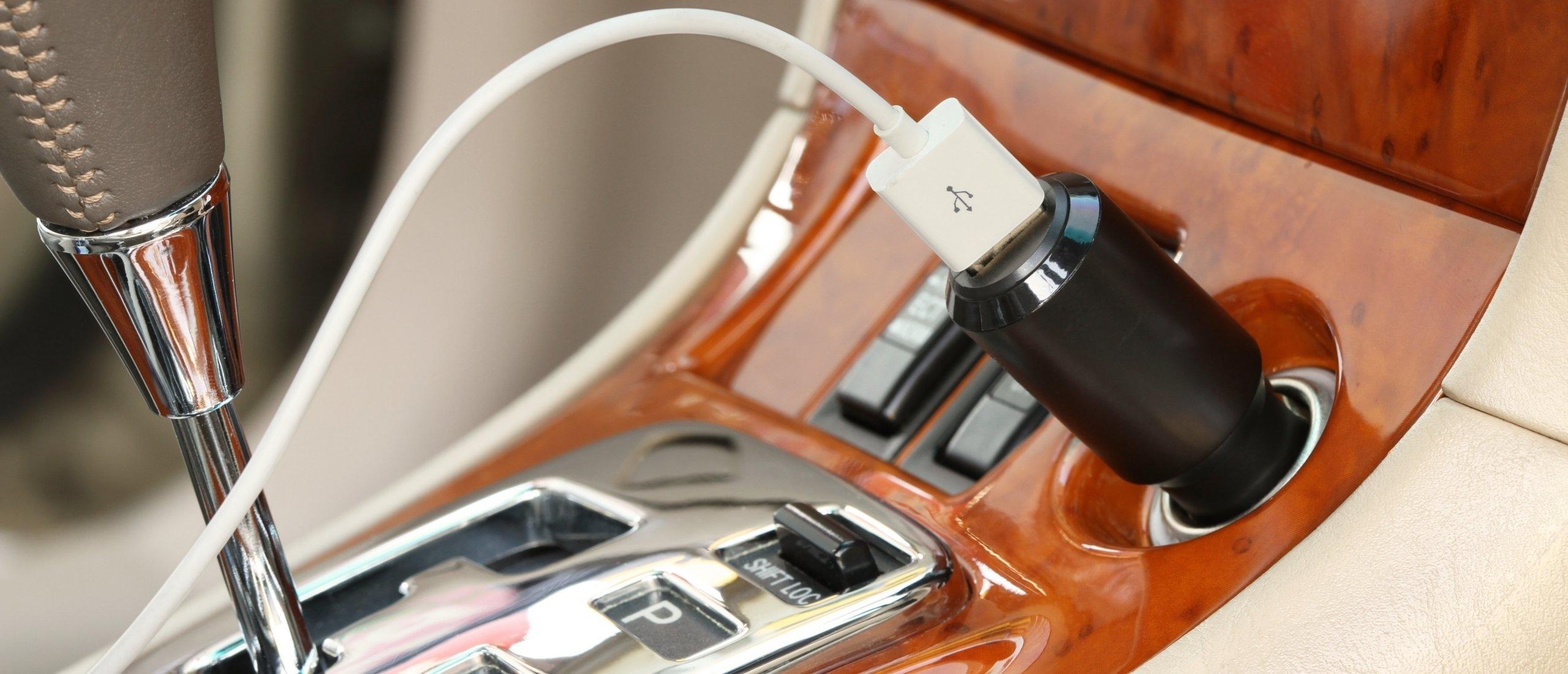 USB-lader voor auto