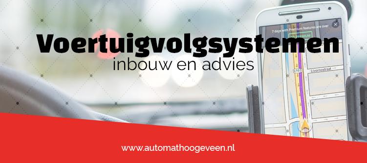 Voertuigvolgsysteem voor de auto, camper of bus