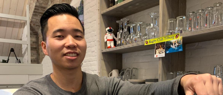 Collega Huan Nguyen stelt zich voor