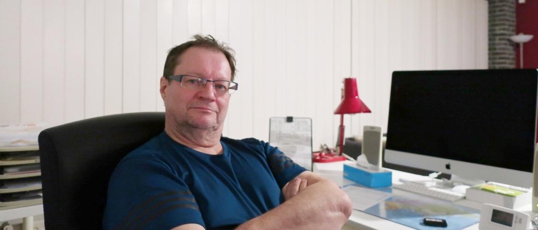 Collega Frank Willems stelt zich voor
