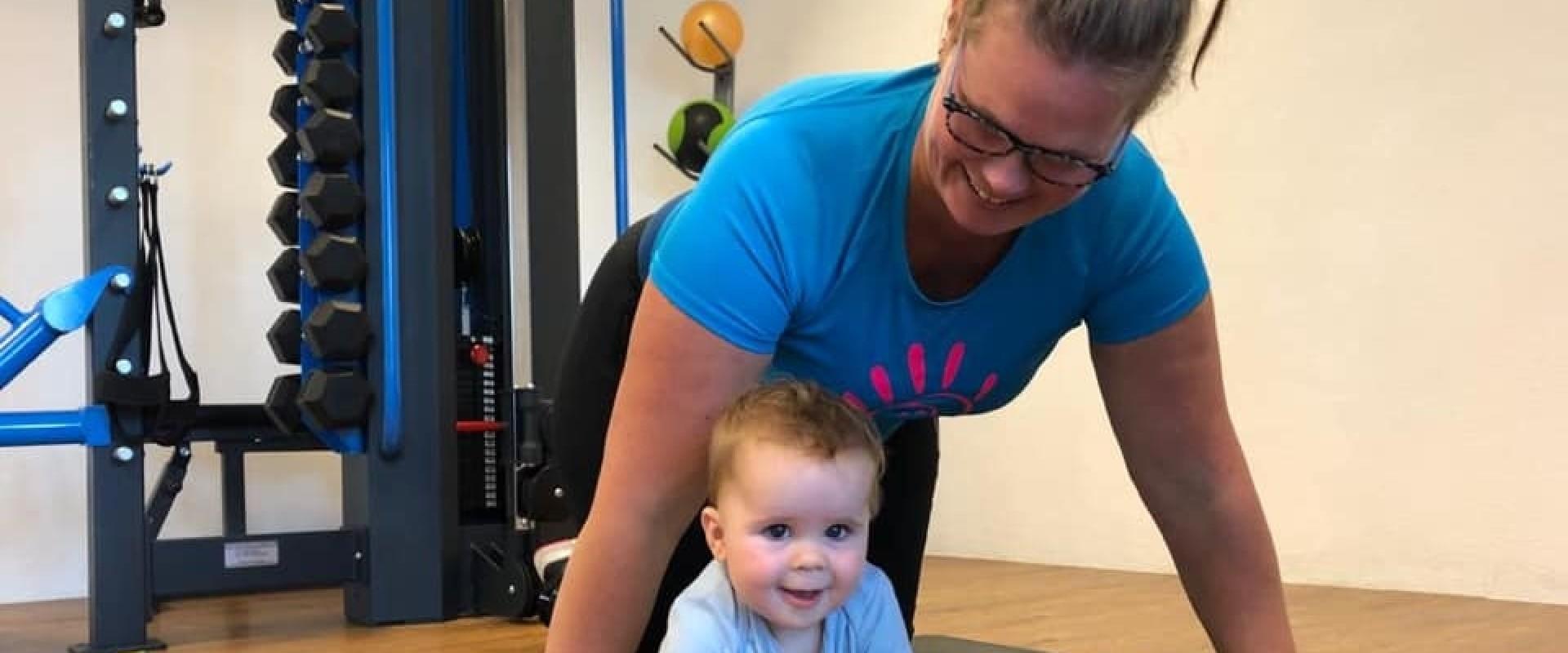 Workout voor pas bevallen moeders