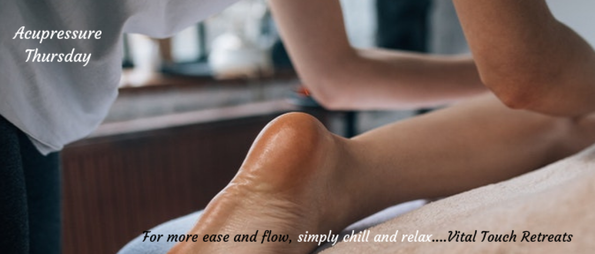 How to find relief from heel pain using acupressure