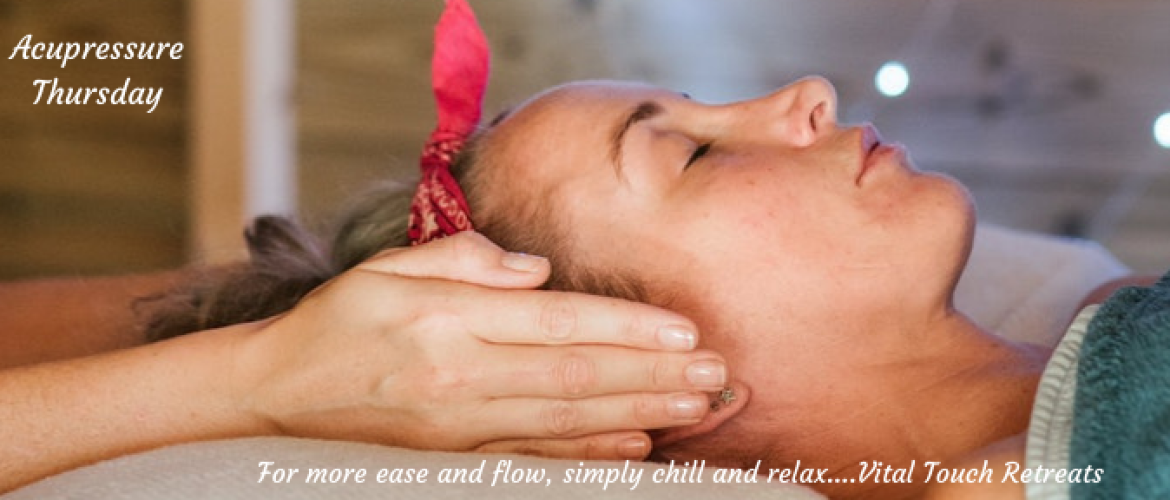 Find relief from nasal congestion using acupressure