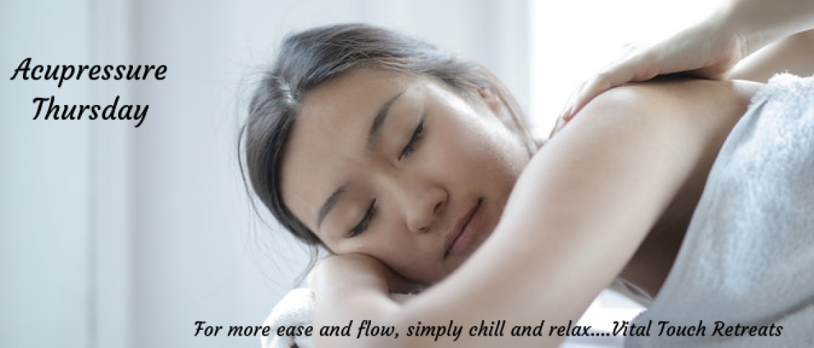 How to recharge your batteries using acupressure
