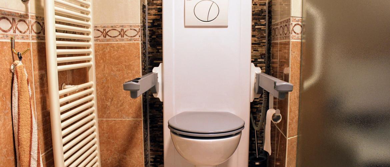 'Het sta-op-toilet is een essentieel onderdeel in de dagelijkse verzorging geworden.'