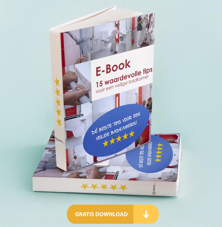 Ebook: 15 waardevolle tips voor een veilige badkamer