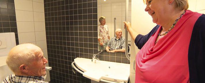 Aangepast sanitair zorgt voor comfort en veiligheid voor iedereen