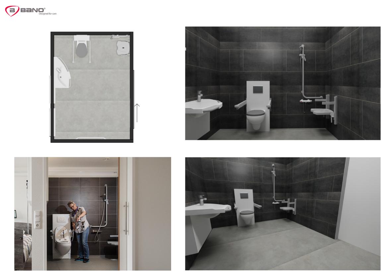 Aangepaste badkamer ouderen